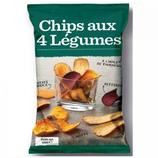 12 Chips aux 4 légumes paquet 100g