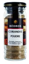 6 Coriandre en poudre flacon 35g Bedros