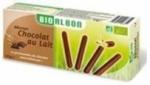 12 Biscuits batonnet chocolat lait BIO paquet 125g