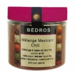 14 Mélange Mexicain-Chili pot 95g Bedros