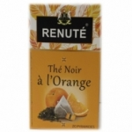 20 Thé noir à l'orange 20 sachets pyramides Renuté