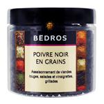 14 Poivre noir en grains pot 100g Bedros