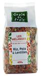 12 Mélange riz, pois & lentilles 400g Grain de Frais