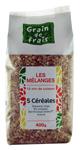 12 Mélange 5 céréales paquet 400g Grain de Frais
