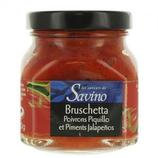 12Bruschetta poivrons piquillo pot 140g Savino