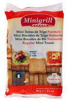 20 Mini biscottes au blé sachet 90g