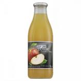 6 Pur jus de pomme trouble d'Alsace bouteille 1L - France