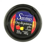 12Duo de poivrons grillés à l'huile 225g Savino
