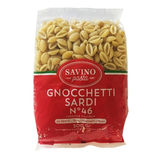 20 Pâtes Gnoccheti Sardi n°46 pqt 500g Savino Pasta