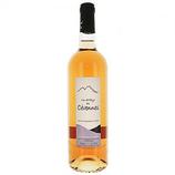 6 Vin rosé Cévennes Syrah IGP bouteille 75cl - France