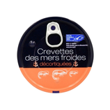 24 CREVETTE DECORTIQUEE MERS FROIDES 75 GR