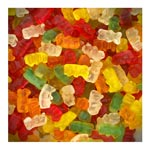 8 Bonbons Mini Oursons Lisses 1kg Trolli