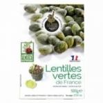 10 Lentilles vertes de France boîte 500g