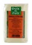 12 Semoule extra fine paquet 1kg Grain de Frais