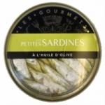 12 Petites sardines à l'huile d'olive conserve 120g