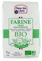 10 Farine T80 semi-complète BIO pqt 1kg Fleur du Jura