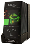 12 Chocolat noir Ouganda 80% cacao tablette 100g