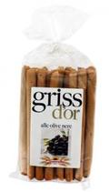 11 Gressin olive noire paquet 250g Griss d'or
