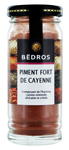 6 Piment fort de Cayenne flacon 40g Bedros