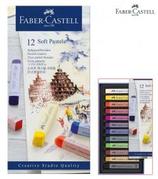 12 cires pastel Faber couleurs Cod. 147063