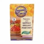 12 Préparation nappage pour tarte 5 sachets St Lucie