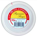 12 Fruits confits bigarreaux pot 200g
