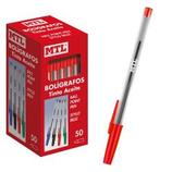 50 stylos classique rouge Cod. 041140