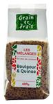 12 Mélange boulgour & quinoa pqt 400g Grain de Frais