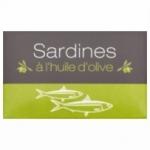 54 Sardine à l'huile olive Maroc conserve 125g