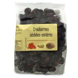 10 Cranberries séchées entières paquet 200g