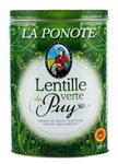 10 Lentilles vertes AOC du Puy boîte fer 500g