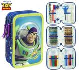 1 Toy Story Plumier 3D - 3 étages remplis - 19x12 Cod. 222474