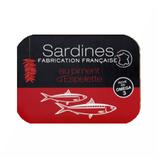 13 Sardines piment d'Espelette France conserve 115g