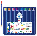 24 crayons de couleur Staedtler aquarellable Cod. 147062