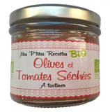 6 Tartinable BIO olives tomates séchées bocal 100g