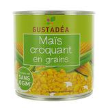 12 Maïs croquant en grains conserve pne 285g Gustadéa