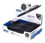 25 Stylos Milán P1 Touch noir Cod. 041062