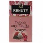 20 Thé noir aux fruits rouges 20 pyramides Renuté