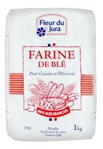 10 Farine type 55 paquet 1kg Fleur du Jura