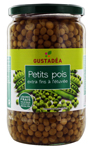 6 Petits pois extra fins bocal pne 445g Gustadéa