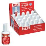 20 Correcteurs liquides flacons avec pinceau 20 ml Cod. 092019