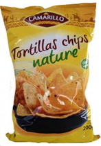22 Tortillas chips nature paquet 200g Camarillo
