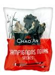 50 Champignons noirs séchés entiers pqt 80g Chao'an