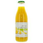 6 Pur jus d'orange BIO bouteille 1l