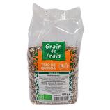 6 Trio de quinoa BIO paquet 400g Grain de Frais