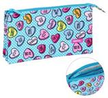 1 Sweet Heart Blue Fourre-tout triple 22x13 Cod. 231361