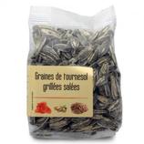 10 Graines de tournesol grillées salées paquet 100g