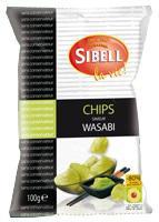 24 Chips wasabi paquet 100g Sibell