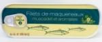24 Filets de maquereaux muscadet & aromates 97g