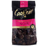 10 Palets de chocolat noir dessert sachet 200g